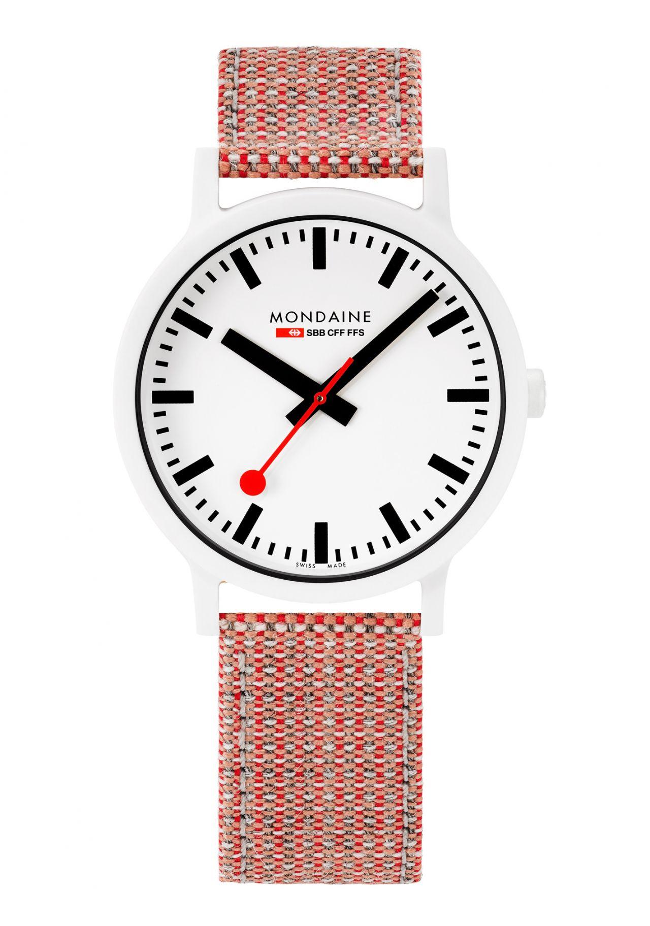 Mondaine Essence White Uhr 41mm