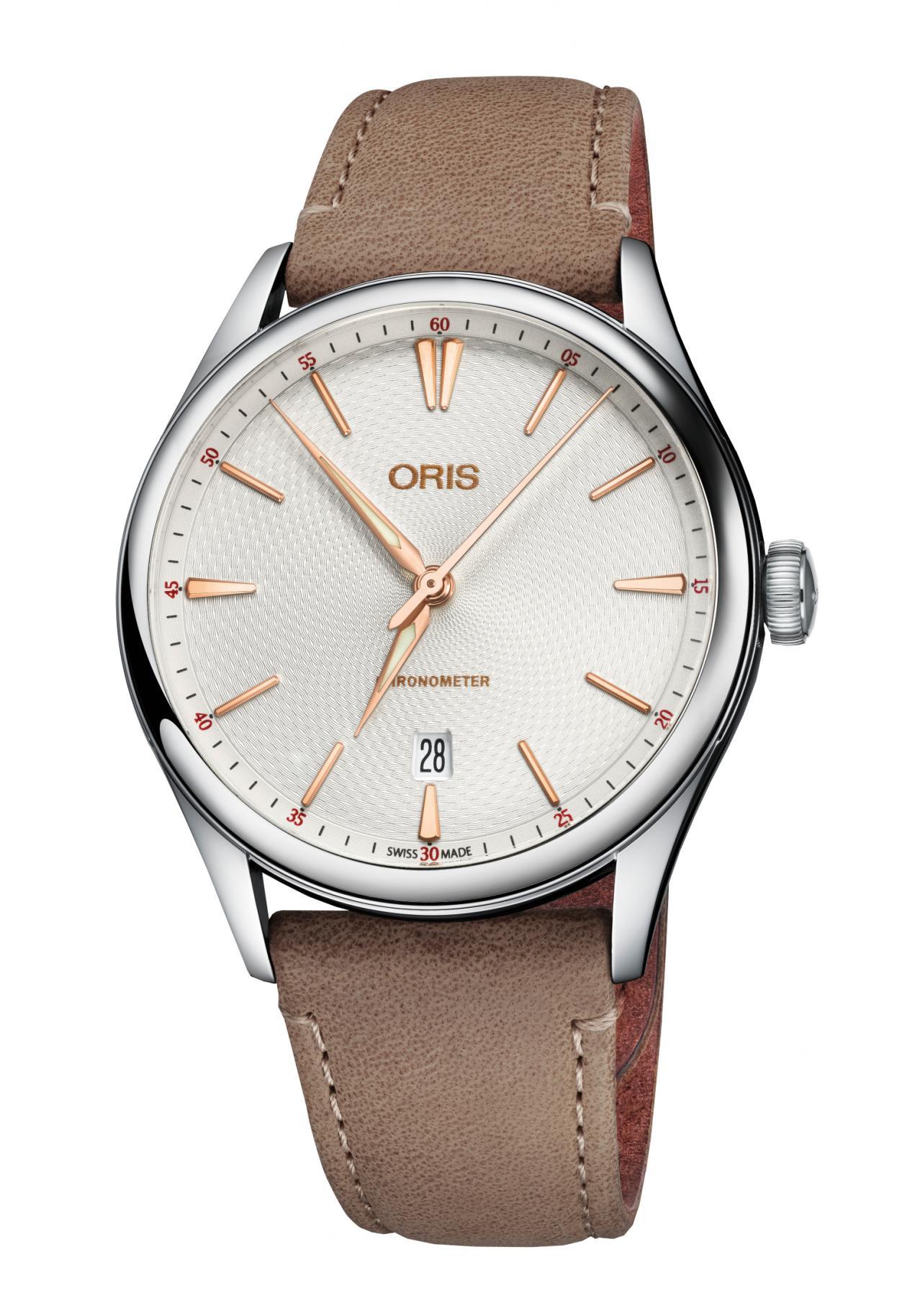 Oris Herrenuhr Artelier Date Automatik Chronometer